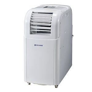 Cool Living 10,000 BTU Compact Portable A/C Air Conditioner w/ Exhaust + Remote