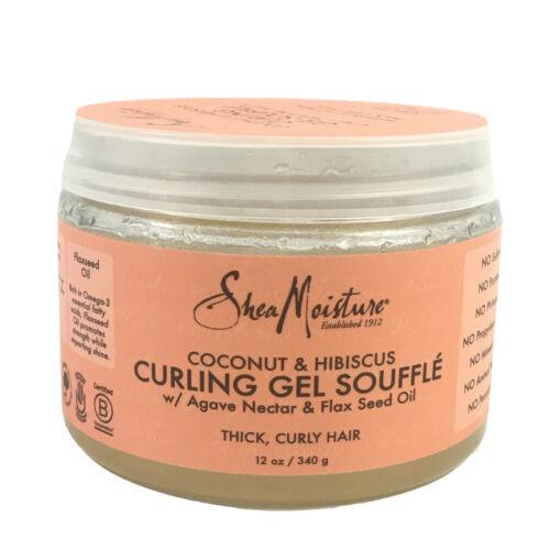 Shea Moisture Organic Coconut & hibiscus Curling Souffle 12o