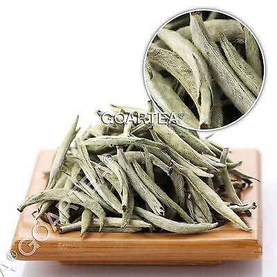GOARTEA Premium Chinese Organic Bai Hao Yin Zhen * Silver Needle Loose White Tea Chinese White Tea