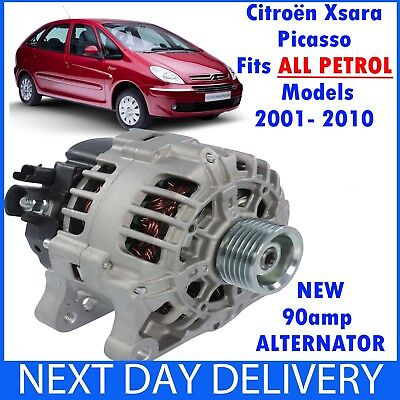 NEW ALTERNATOR Fits CITROEN XSARA PICASSO PETROL 16 18 20 2001 2010 MPV N68
