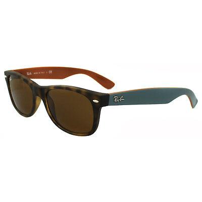 Ray-Ban Sonnenbrille Neu Wayfarer 2132 6179 Matt Havanna Braun Klein 52mm