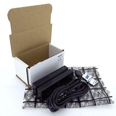 Magtek 21040108 Triple Track Magnetic Stripe Swipe Card Reader Usb Kb - Used