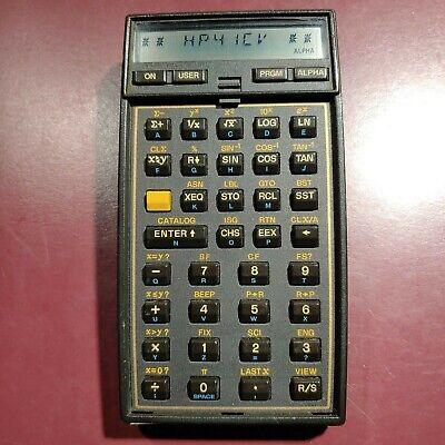 HP41CV Scientific Vintage calculator  - USED condition