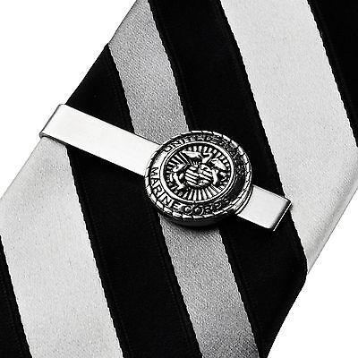 Marine Corps Tie Clip - Tie Bar - Clasps - Business Gift - Handmade - Gift Box