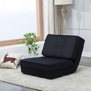 Fold Down Chair Sleeper Bed Couch Sofa Flip Out Lounger Convertible
