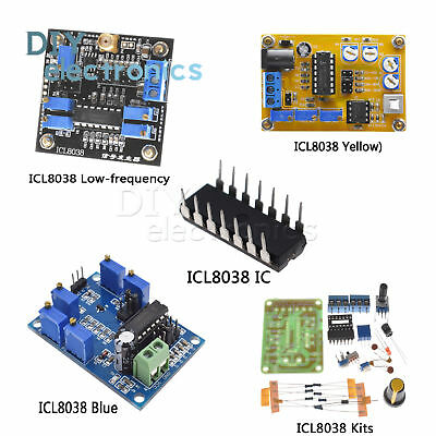Icl8038 Dc Dds Signal Generator Moduleicdiy Kit Sine Square Triangle Us
