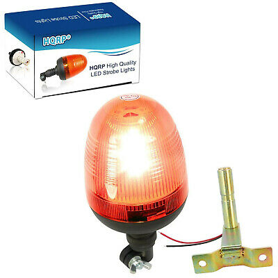 Hqrp Amber Emergency Warning Led Light Beacon For Forklift Truck Trailer Car