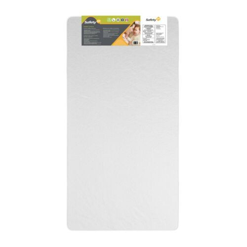 Safety 1st Crib and Toddler Mattress, Lightweight Durable Water Resistant Cover