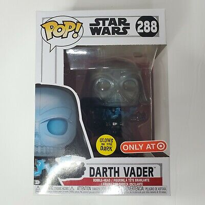 Funko Pop! Star Wars Darth Vader (Electrocuted) Glow #288 HT Exclusive