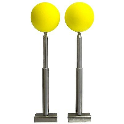 Magnetic Telescoping Trailer Hitch Alignment Kit Boat Trailer Utility Balls Rods