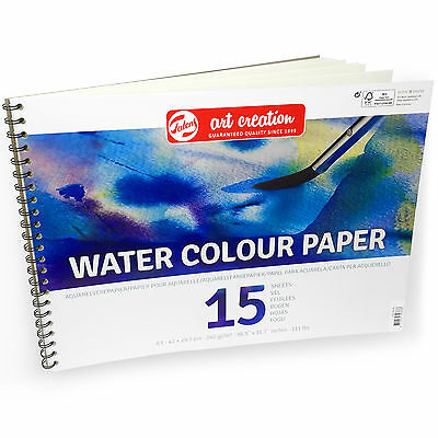 Royal Talens – Art Creation A3 Water Colour Paper – 15 Sheets – 240gsm  for sale  Shipping to United States