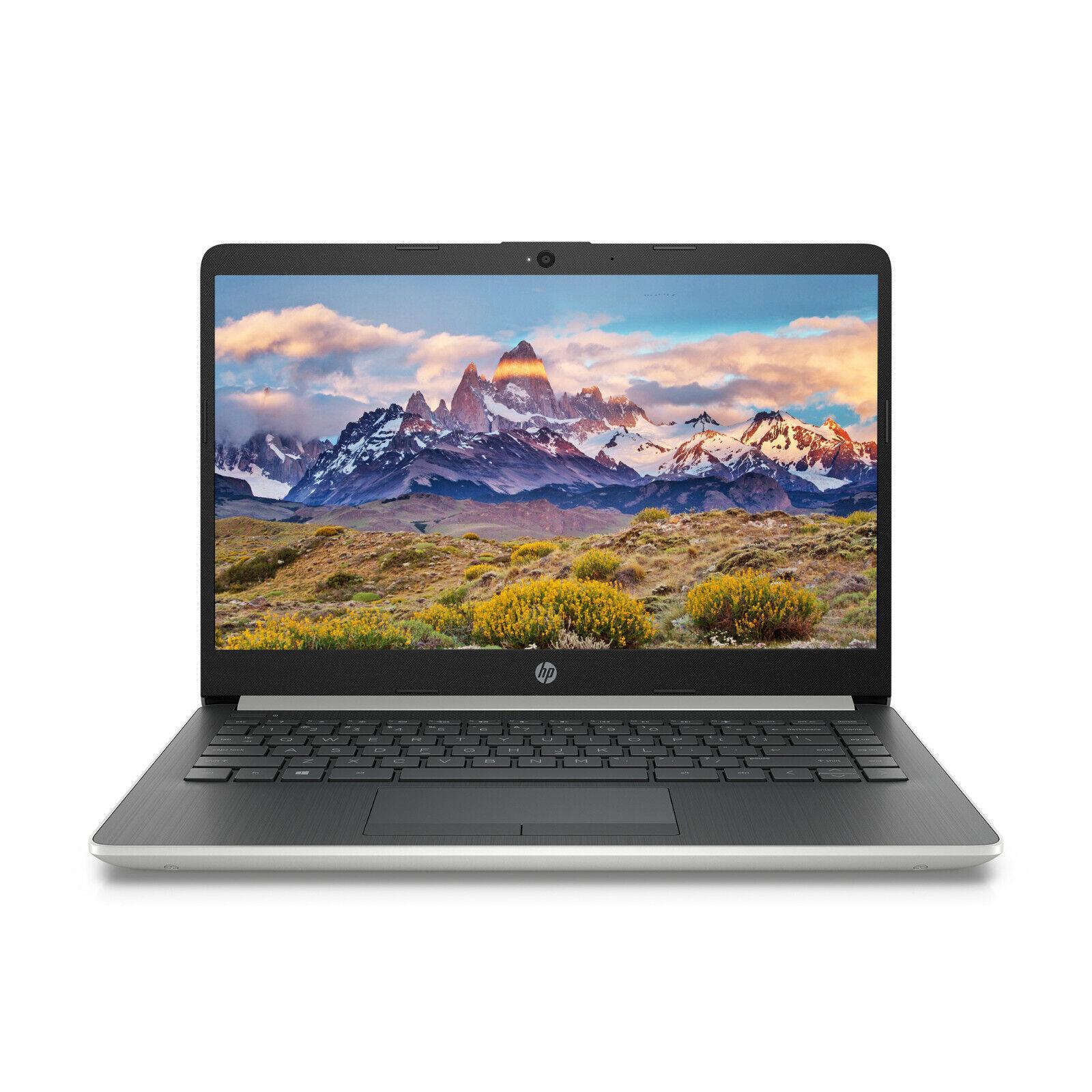 "Laptop Windows - NEW HP 14"" HD Intel 2.6GHz 4GB 64GB eMMC Windows 10 + 1Yr Microsoft Office"
