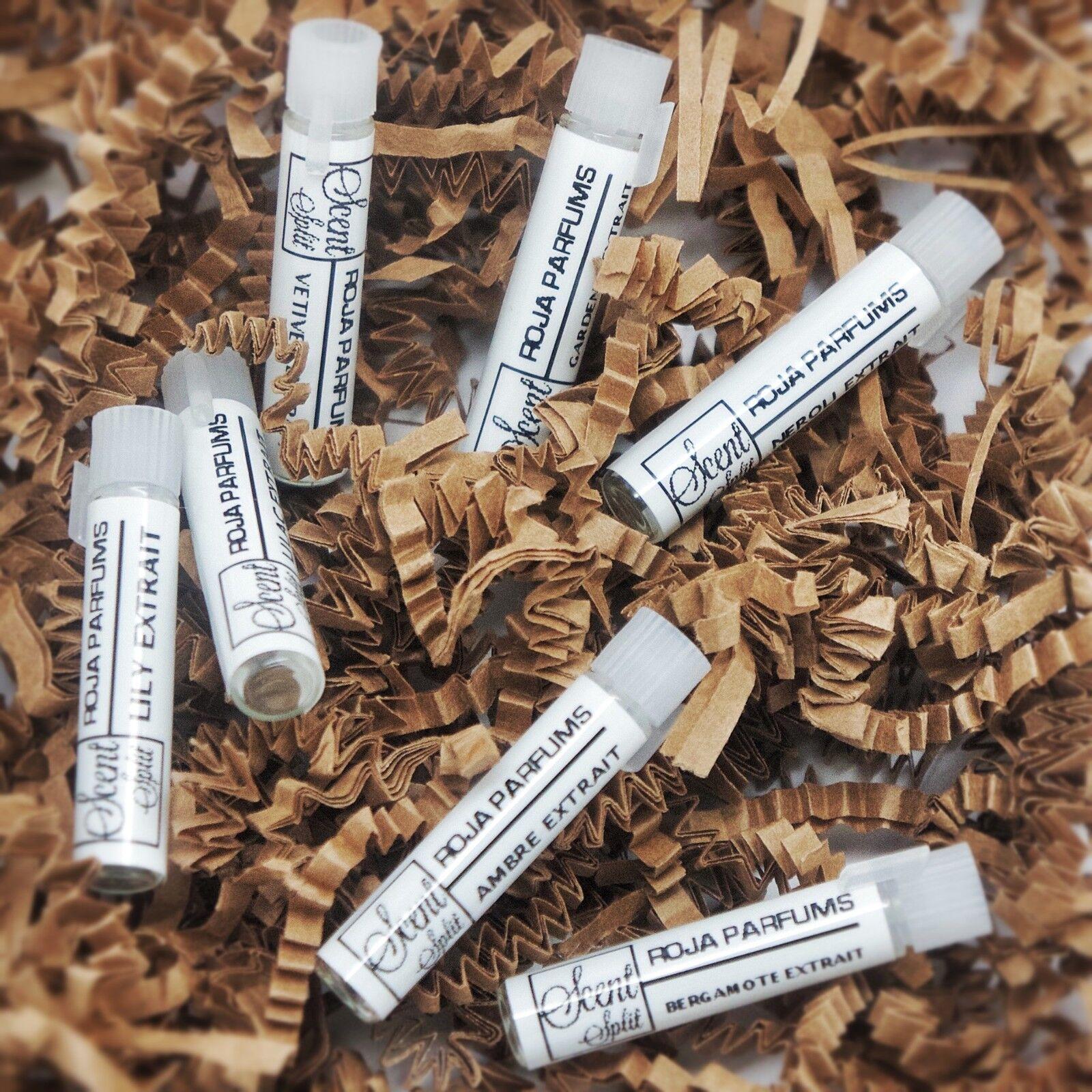 Roja Dove parfum extrait samples Neroli, Ambre, Vetiver, Lily ...