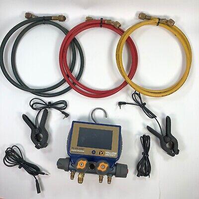 Yellow Jacket P51-870 Titan Digital Manifold Clamps Hoses
