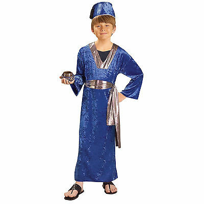 Blue Wise Man Child Costume - Nativity / Biblical / Christmas