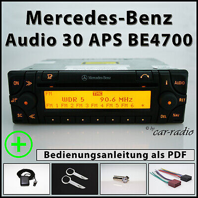 Original Mercedes Audio 30 APS BE4700 Becker Navigationssystem A1688200826 Set