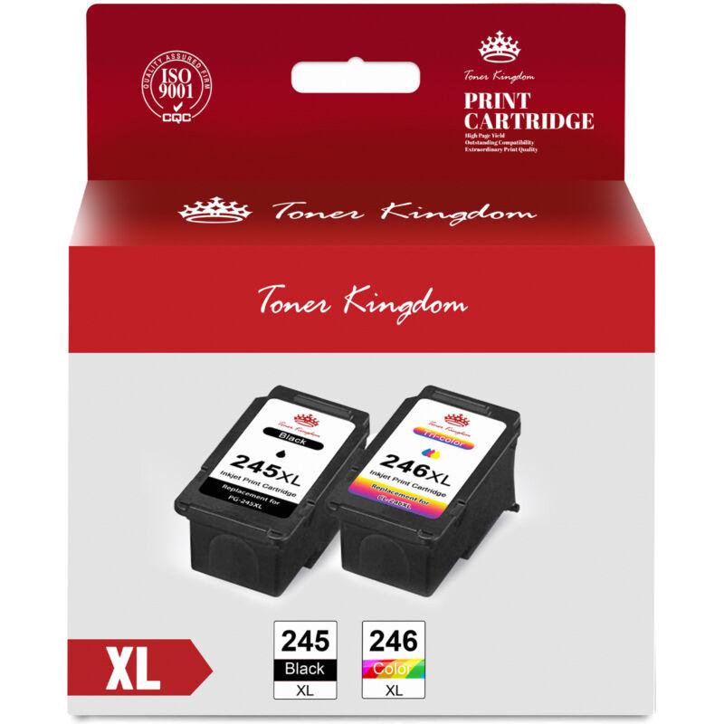 PG-245XL CL-246XL Ink Cartridge for Canon PIXMA MG2522 MG2520 TS3122 MX490 MX492
