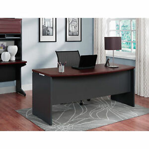 Office Desk Executive Computer Table Workstation Home Furniture Study Cherry New