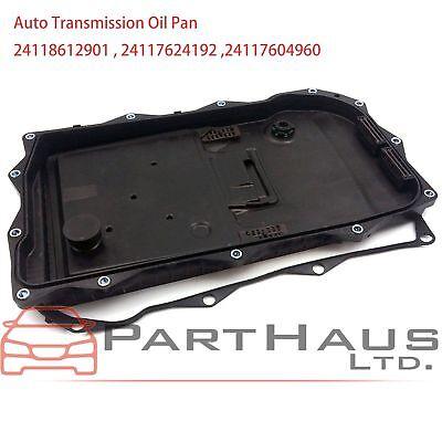 Auto Transmission Oil Pan + Filter + Gasket + Plug Kit for BMW F10 F20 F35 X3 -