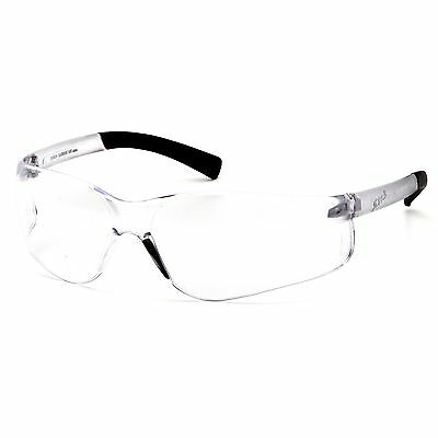 Pyramex Bifocal Safety Glasses With 1.5 Clear Lens Black Temples