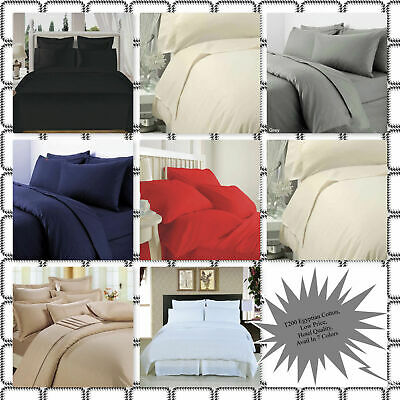 Best Quality 100% Egyptian Cotton Full Bed Sheets Flat Sheet 200TC All
