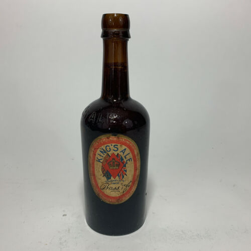 Vintage Collectable Beer Bottle - King