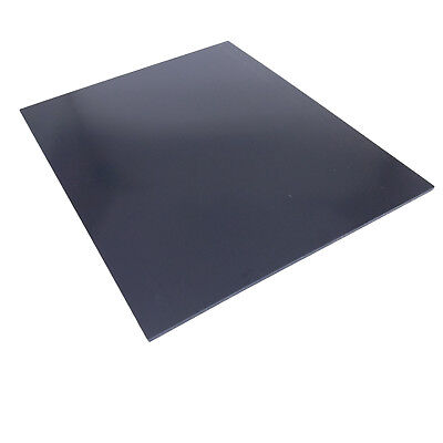 Us Stock 1pc 3mm X 7.87 X 9.84 Black Abs Styrene Plastic Flat Sheet Plate