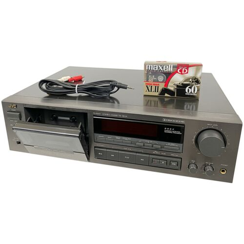 Vintage 1991 JVC Stereo Cassette Deck Player Recorder With Auto Reverse TD-R441