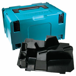 MAKITA MAKPAC DKPS Stackable Case & Inlay for DKP180 Planer