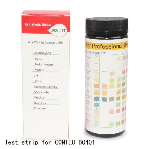 Hot sale new 100 pcs test strips for Mini CONTEC urine analyzer BC401 machine