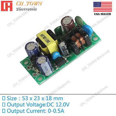 Ac-dc 12v 0.5a 6w Power Supply Buck Converter Step Down Module High Quality Usa