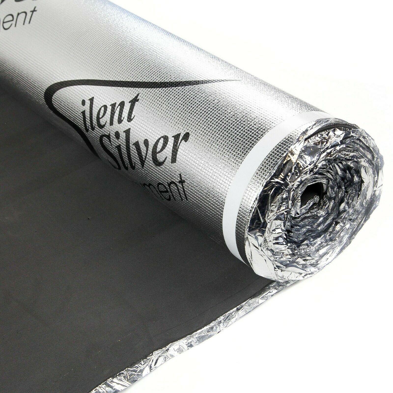 FlooringInc Silent Silver Underlayment -  Great For Laminate