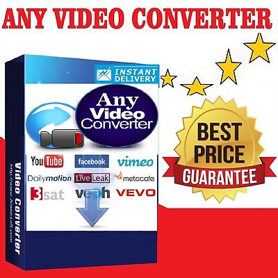 Any Video Converter Download Youtube Downloader Music Recording Edit 30X Faster