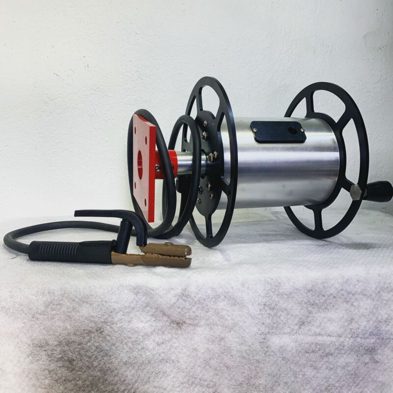 Welding Lead Cable Reel,Heavy-Duty Hand  Welding Cable  600 amp