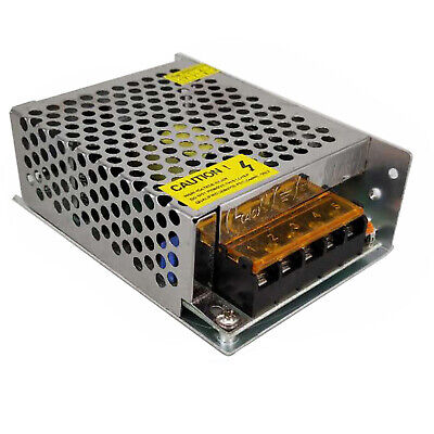 Ac 110220v To Dc 12v 5a 60w Volt Transformer Switch Power Supply Converter Us