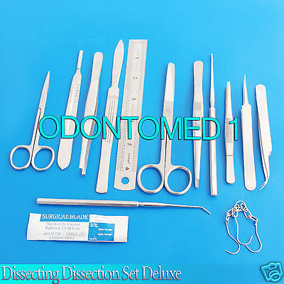 Dissecting Dissection Set Deluxe Medical Student College Lab Teachers Ds-759