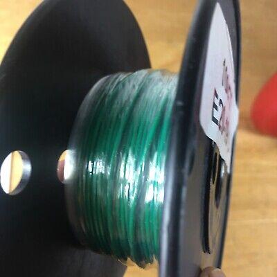 Green Stranded Teflon Hook-up Wire - 100ft 20 Awg E Type 1000v 19 Strand