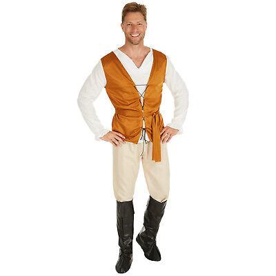 Herrenkostüm Bauer aus dem Mittelalter Kostüm Männer Karneval Fasching Halloween