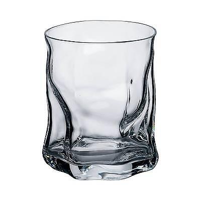 Bormioli Rocco Sorgente Double Old Fashioned Glass Set of 4