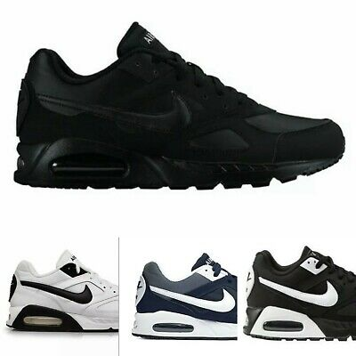 Nike Air Black White Navy IVO Mens Trainers Casual Sports Gym Sneakers RRP £109