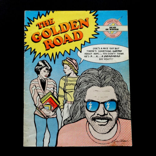 Grateful Dead The Golden Road Magazine 1985 Winter Issue 5 GD Comics Cover Art
