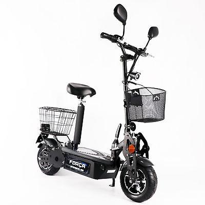 El Última Força Bicicleta Eléctrica E-Roller Scooter Eléctrico 1800 Watt 45 km...
