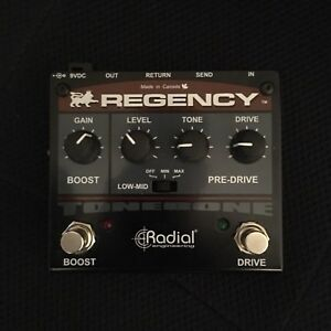 Radial Regency Mid Boost / Overdrive