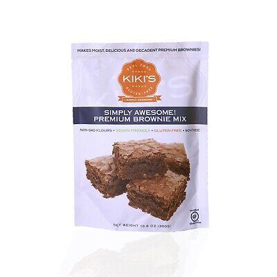 Gluten Free Vegan Brownies - Kikis Brownie mix~ Gluten Free,  Soy Free, & Vegan Friendly