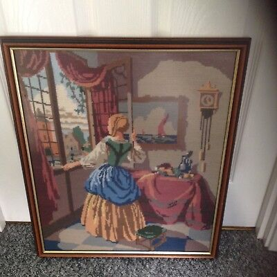 Beautiful framed tapestry