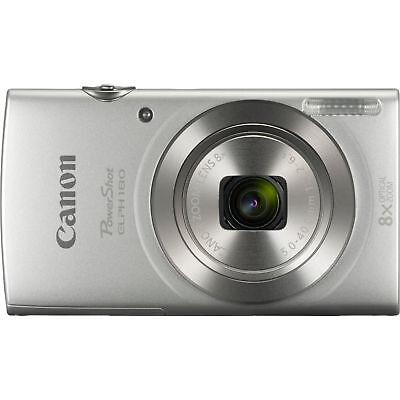 Canon PowerShot ELPH 180 20MP 8x Optical Zoom HD Video Digital Camera