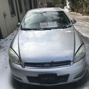 2007 Chev Impala $1000 OBO as is
