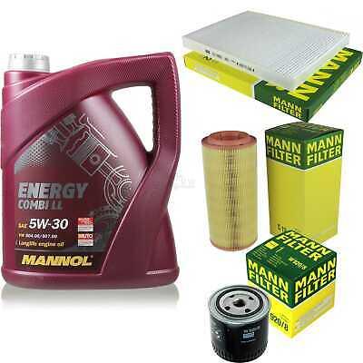 Inspection Set 5L Mannol Energy Combill 5W30 Motor Oil + Mann Filter 10768814