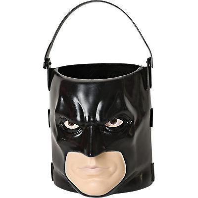 Batman Dark Knight Rises Head Pail Trick Or Treat Bucket Halloween Decoration