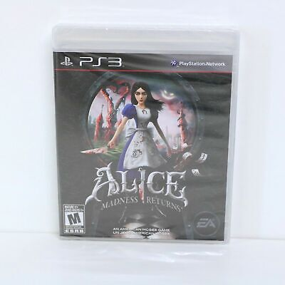 ALICE - MADNESS RETURNS - SONY PLAYSTATION 3 PS3 GAME - NEW...